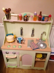 Our toy kitchen
