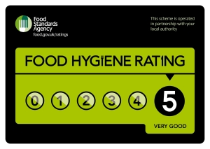 Level 5 Food Hygiene Rating